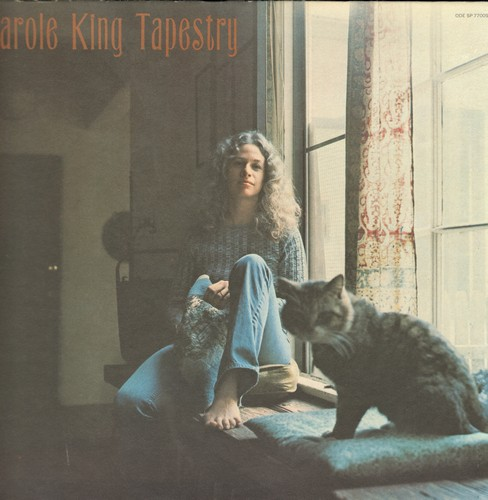 King, Carole - Tapestry: So Far Away, It's Too Late, (You Make Me Feel Like) A Natural Woman (vinyl STEREO LP record, gate-fold cover first pressing) - EX8/EX8 - LP Records