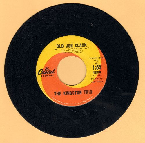 Kingston Trio - Old Joe Clark - NM9/ - 45 rpm Records