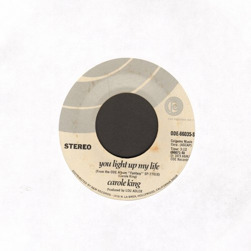 King, Carole - You Light Up My Life/Believe In Humanity - NM9/ - 45 rpm Records