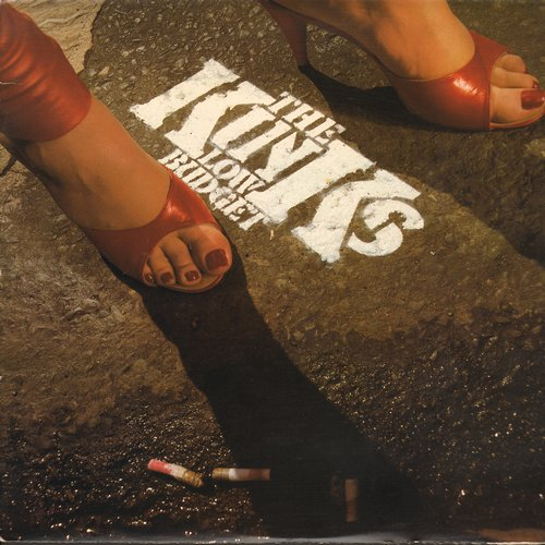 Kinks - Low Budget: Attitude, Superman, Pressure, Low Budget, Moving Pictures (vinyl STEREO LP record) - EX8/VG7 - LP Records