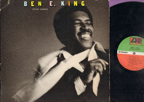 King, Ben E. - Music Trance: Music Trance, And This Is Love, Touched By Your Love, Hired Gun, Everyday, Work That Body (Vinyl Stereo LP Record ) - EX8/VG7 - LP Records