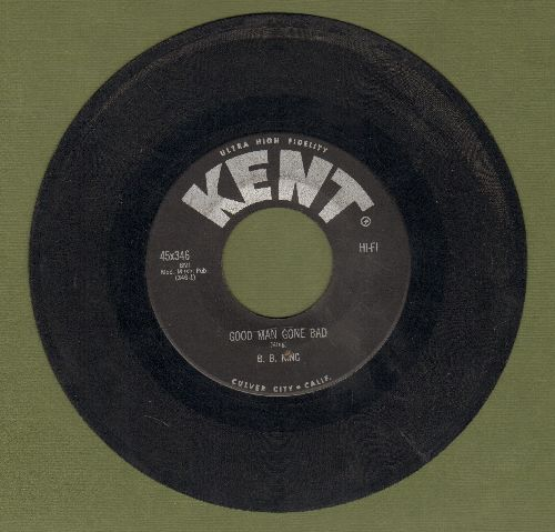 King, B. B. - Good Man Gone Bad/Partin' Time - VG6/ - 45 rpm Records