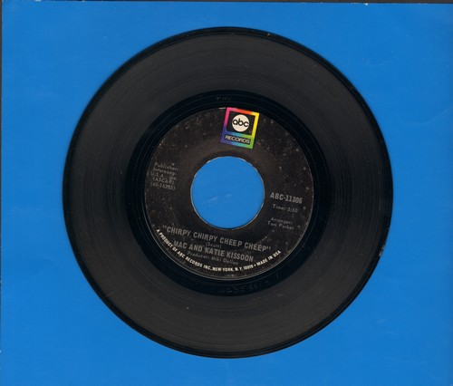 Kissoon, Mac & Katie - Chirpy Chirpy Cheep Cheep/Walking Around - VG7/ - 45 rpm Records