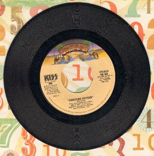 KISS - Christine Sixteen/Shock Me - NM9/ - 45 rpm Records
