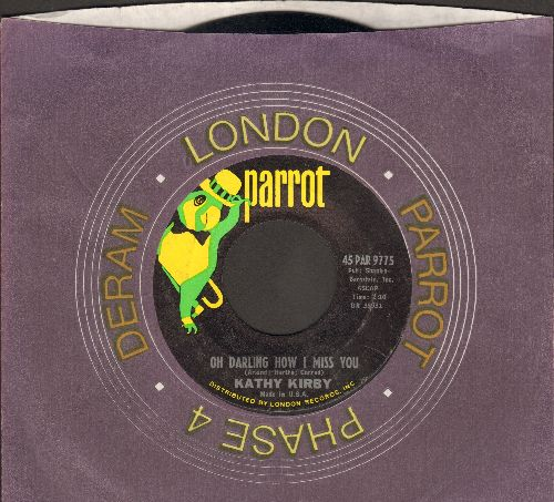 Kirby, Kathy - Oh Darling How I Miss You/The Way Of Love (with company sleeve) - M10/ - 45 rpm Records