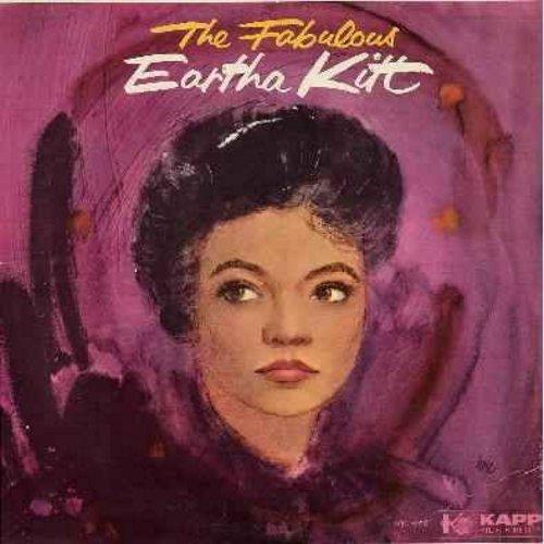 Kitt, Eartha - The Fabulous Eartha Kitt: Mack The Knife, I'd Rather Be Burned As A Witch, Yellow Bird, Shalom, Lamplight, Jambo Hippopotami (vinyl MONO LP record) - EX8/VG7 - LP Records