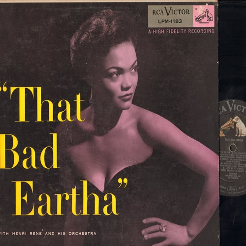 Kitt, Eartha - That Bad Eartha: I Want To Be Evil, C'est Si Bon, Let's Do It, Under The Bridges Of Paris (vinyl MONO LP record) - EX8/EX8 - LP Records