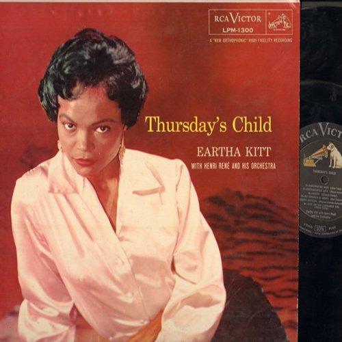 Kitt, Eartha - Thursday's Child: Mademoiselle Kitt, No Importa Si Menti, Just An Old Fashioned Girl, Jonny, Le Danseur De Charleston (vinyl MONO LP record, NICE condition!) - EX8/VG7 - LP Records