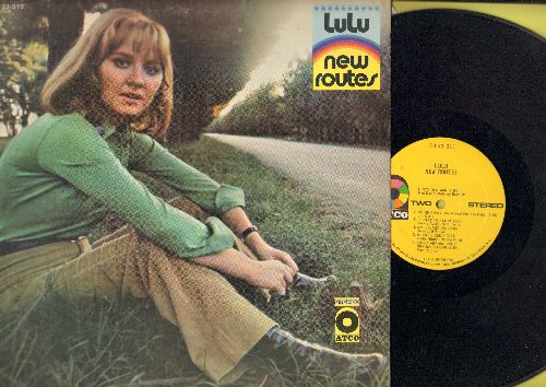 Lulu - New Routes: Dirty Old Man, Mr. Bojangles, Where's Eddie, Sweep Around Your Own Back Door (vinyl STEREO LP record) - VG7/VG7 - LP Records