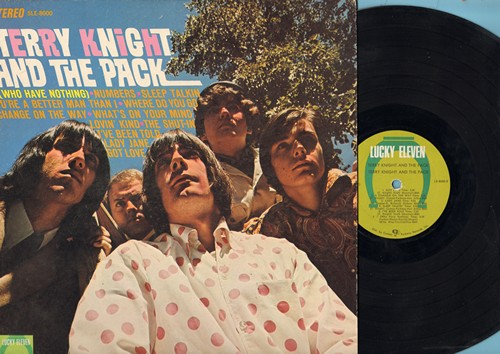 Knight, Terry & The Pack - Terry Knight And The Pack: I (Who Have Nothing), Numbers, The Shut-In, Got Love, Sleep Talkin', Lady Jane (vinyl STEREO LP record) - VG7/VG6 - LP Records