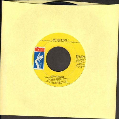 Knight, Jean - Mr. Big Stuff/Why I Keep Living These Memories  - EX8/ - 45 rpm Records