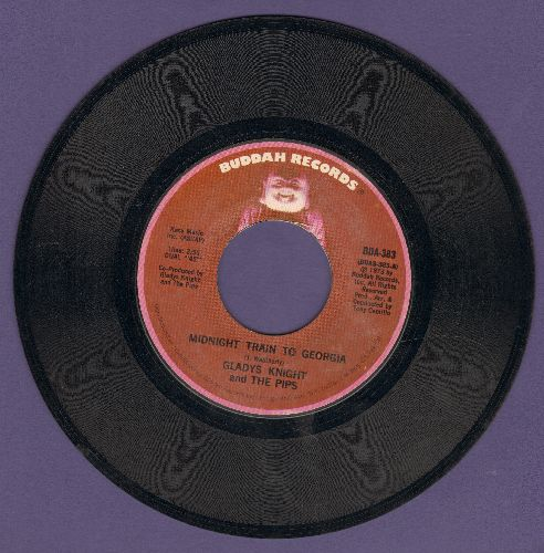 Knight, Gladys & The Pips - Midnight Train To Georgia/Window Raising Granny - NM9/ - 45 rpm Records