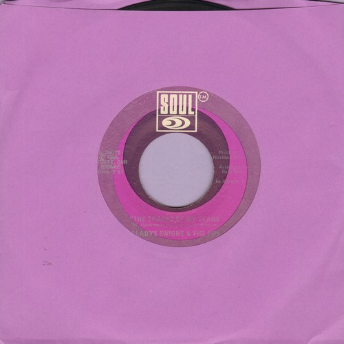 Knight, Gladys & The Pips - The Tracks Of My Tears/If I Were Your Woman - VG7/ - 45 rpm Records
