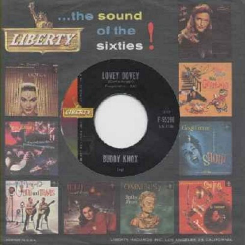 Knox, Buddy - Lovey Dovey/I Got You (with Liberty company sleeve) - EX8/ - 45 rpm Records