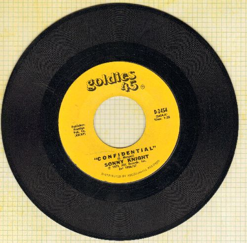 Knight, Sonny - Confidential/Jail Bird (1970s pressing of vintaqge recordings) - NM9/ - 45 rpm Records