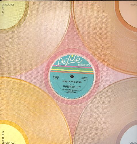 Kool & The Gang - Celebration (5:00 Minutes Extended Disco Version)/Tonight (6:17) (12 inch vinyl Maxi Single) - NM9/ - 45 rpm Records