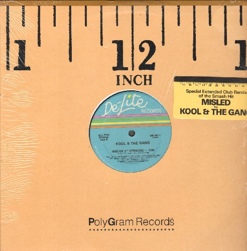 Kool & The Gang - Misled (5:35 Remix)/Misled (7 inch Version) (12 inch Maxi Single with company sleeve) - NM9/ - Maxi Singles