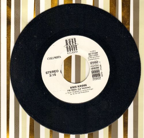 Kris Kross - I'm Real/Sound Of The Hood - M10/ - 45 rpm Records