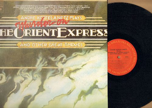 Kostelanetz, Andre - Murder On The Orient Express and other Great Themes: Airp[ort 1975, The Godfather II, Towering Inferno, Earthquake (vinyl STEREO LP record) - NM9/NM9 - LP Records