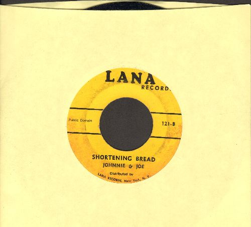 Johnnie & Joe - Shortening Bread/Over The Mountain Across The Sea (early double-hit re-issue) - EX8/ - 45 rpm Records
