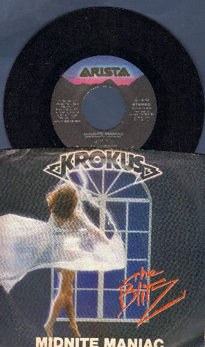 Krokus - Midnight Magic/Ready To Rock (with picture sleeve) - NM9/EX8 - 45 rpm Records