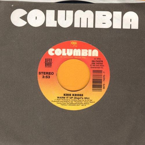 Kris Kross - Warm It Up (2 versions of Rap Hit) - M10/ - 45 rpm Records