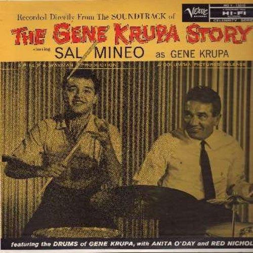 Krupa, Gene - The Gene Krupa Story - Original Motion Picture Sound Track (vinyl MONO LP record) - VG7/NM9 - LP Records