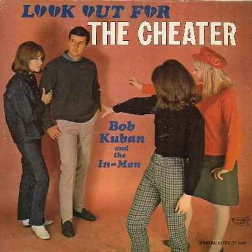 Kuban, Bob & The In-Men - Look Out For The Cheater: In The Midnight Hour, Batman Theme, You've Got Your Troubles, These Boots Were Made For Walking, Try Me Baby (vinyl MONO LP record) - VG7/VG7 - LP Records