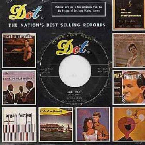 Luke, Robin - Bad Boy/School Bus Love Affair (with Dot company sleeve) - VG7/ - 45 rpm Records