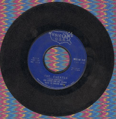 Kuban, Bob & The In-Men - The Cheater/Try Me Baby (bb) - VG7/ - 45 rpm Records