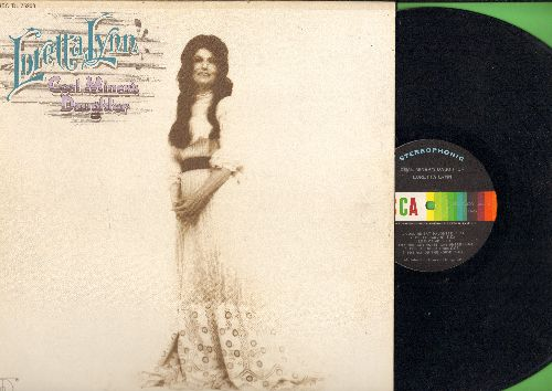 Lynn, Loretta - Coal Miner's Daughter: Hello Darlin', The Man Of The House, Snowbird (vinyl STEREO LP record) - NM9/VG7 - LP Records