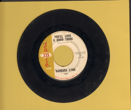 Lynn, Barbara - You'll Lose A Good Thing/Lonely Heartache (sol) - EX8/ - 45 rpm Records