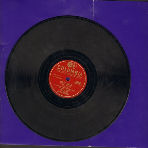 Kyser, Kay - One-Zy Two-Zy (I Love You-Zy)/There's No One But You (10 inch 78 rpm record) - VG7/ - 78 rpm