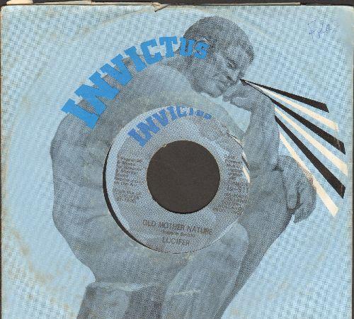 Lucifer - Old Mother Nature/Bloodshot Eyes - VG7/ - 45 rpm Records