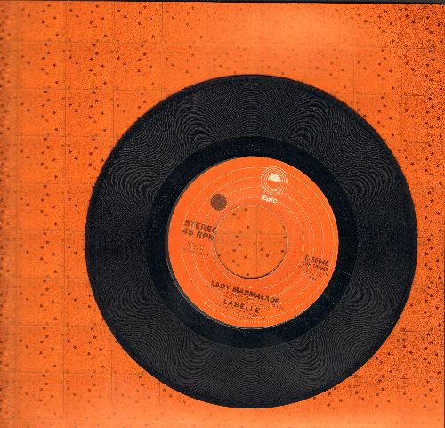 LaBelle - Lady Marmalade (DISCO FAVORITE!)/Space Children  - VG7/ - 45 rpm Records