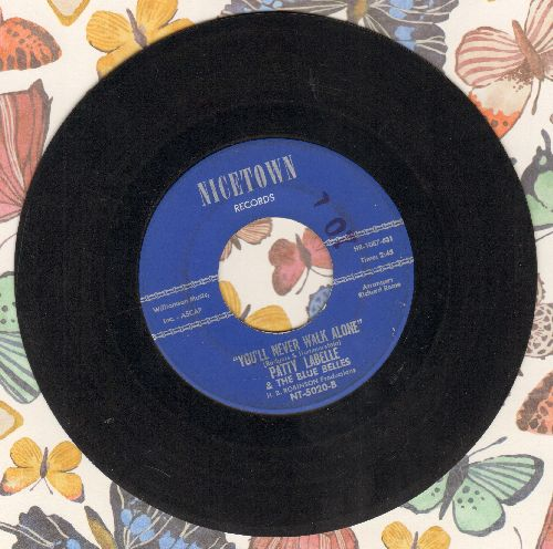LaBelle, Patti & The Blue Belles - You'll Never Walk Alone/Decatur Street (Answer to -South Street-)  - EX8/ - 45 rpm Records