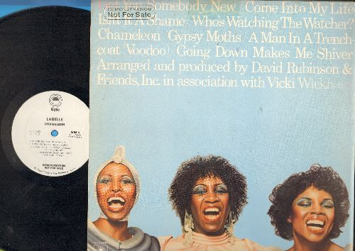Labelle - Chameleon: Get You Somebody New, Gypsy Moths, A Man In A Trenchcoat (Voodoo) (vinyl STEREO LP record, DJ advance pressing) - NM9/VG7 - LP Records