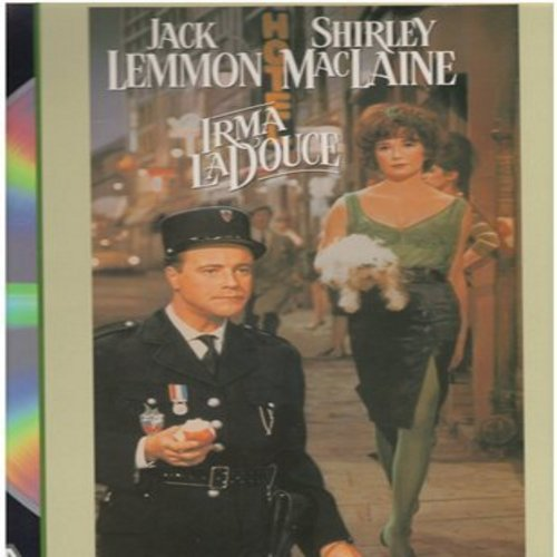 Irma La Douce - Irma La Douce - The 1964 Romantic Comedy starring Jack lemmon and Shirley MacLaine - THIS IS A SET OF 2 LASER DISCS, NOT ANY OTHER KIND OF MEDIA! - NM9/NM9 - Laser Discs