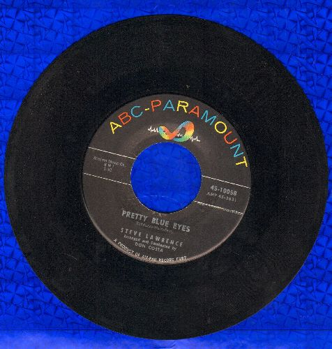 Lawrence, Steve - Pretty Blue Eyes/You're Nearer - NM9/ - 45 rpm Records