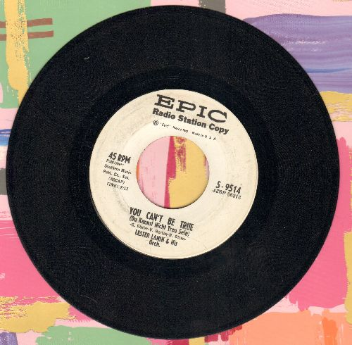Lanin, Lester & His Orchestra - You Can't Be True (Du kannst nicht treu sein)/Give Me A Song (DJ advance pressing) - NM9/ - 45 rpm Records