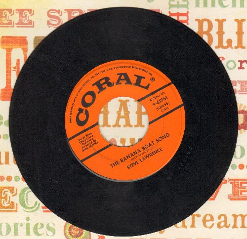 Lawrence, Steve - The Banana Boat Song/Long Before I Knew You - VG7/ - 45 rpm Records