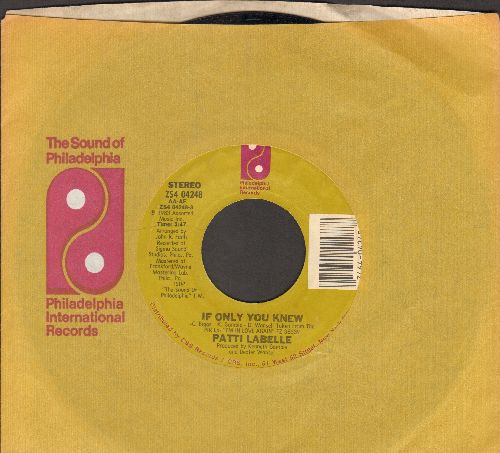 LaBelle, Patti - If Only You Knew/I'll Never, Never Give Up (with company sleeve) - EX8/ - 45 rpm Records