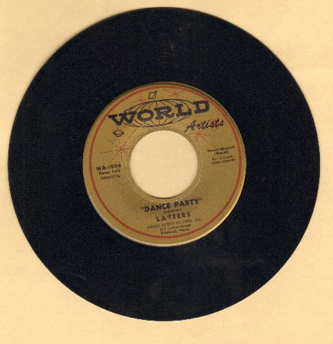 Lateers - Dance Party/The Smock - NM9/ - 45 rpm Records