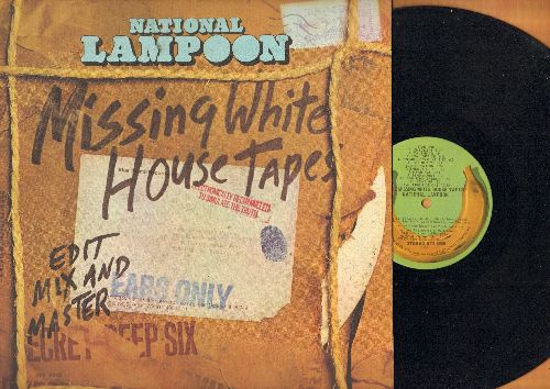National Lampoon - Missing White House Tapes - Hilarious Nixon-Era Political Satire (vinyl STEREO LP record) - NM9/NM9 - LP Records