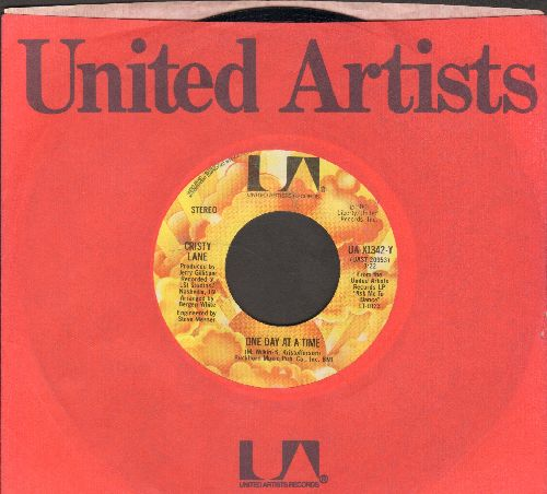 Lane, Cristy - One Day At A Time/I Knew The Mason (with United Artists company sleeve) - EX8/ - 45 rpm Records