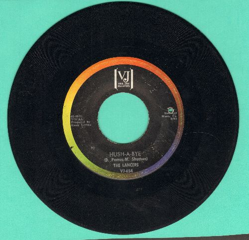 Lancers - Hush-A-Bye/The Warmth Of The Sun (bb) - VG7/ - 45 rpm Records