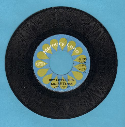 Lance, Major - Hey Little Girl/The Matador (early double-hit re-issue) - NM9/ - 45 rpm Records