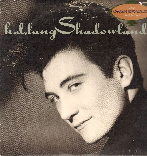 lang, k.d. - Shadowland: Black Coffee, Don't Let The Stars Get In Your Eyes, Sugar Moon, Busy Being Blue (vinyl LP record) - NM9/EX8 - LP Records