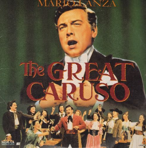 The Great Caruso - The Great Caruso - LASER DISC version of the 1951 Classic starring Mario Lanza  (This is a LASER DISC, not any other kind of media!) - NM9/EX8 - Laser Discs