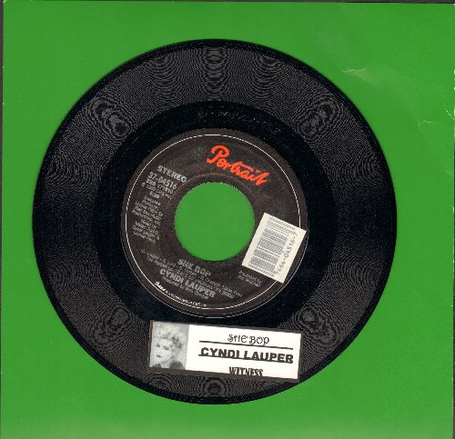 Lauper, Cyndi - She Bop/Witness (with juke box label) - NM9/ - 45 rpm Records
